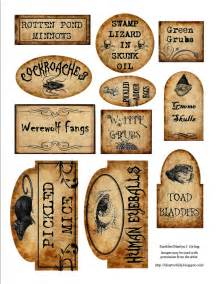apothecary jar labels for download holiday pinterest