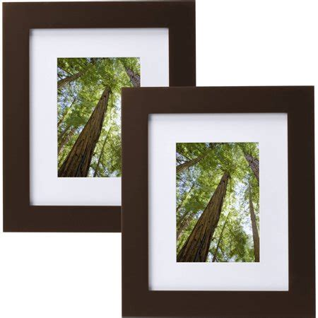 10 X 15 Matted Frames - mainstays museum 8 quot x 10 quot matted to 5 quot x 7 quot solid wood