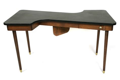 S Shaped Desk leather top s shaped desk modern furniture