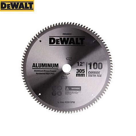 Gergaji Mesin Dewalt harga dewalt 100t aluminium mata gergaji circular 10 quot