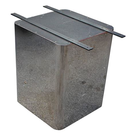 dining table bases for sale sleek pair of chrome sleek pedestal dining table bases for