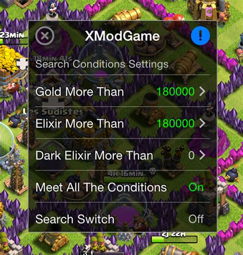 x mod game ios clash of clans comment avoir xmodgames