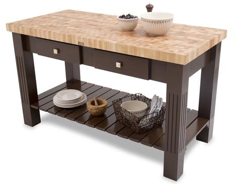 Kitchen Island With Cutting Board Top Maple End Grain Butcher Block Kitchen Island