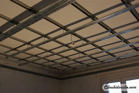 refaire un plafond maison travaux