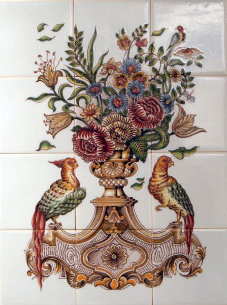 badkamer naarden vesting tichelaar makkum tegeltableaus met de hand beschilderde