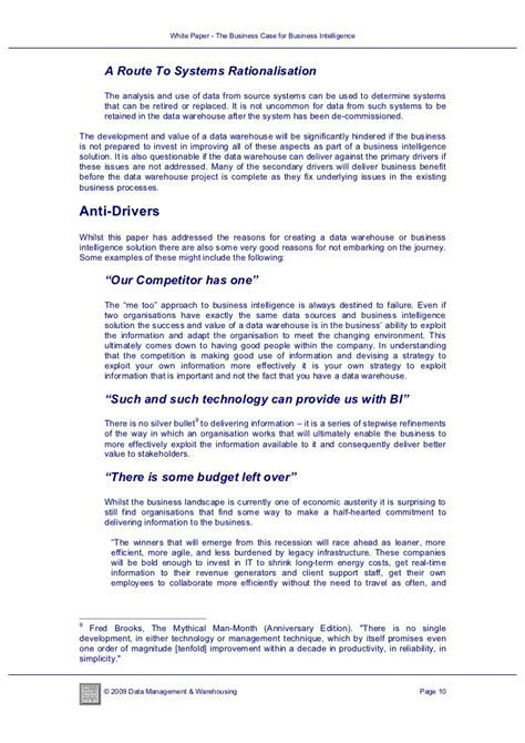 business intelligence research paper term paper on business intelligence
