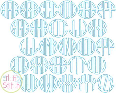applique zig zag circle applique zig zag font