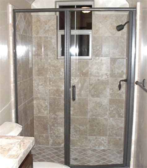 Choosing A Shower Door For Your Bathroom Remodel Swinging Glass Shower Door
