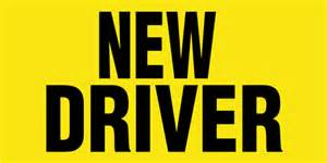 new driver car new drivers car magnet signazon