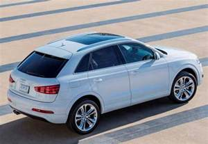 2015 Audi Suv Price 2015 Audi Q3 Suv Pricing To Start At 33 425 Kelley Blue