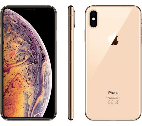 buy apple iphone xs max 256 gb gold free delivery currys