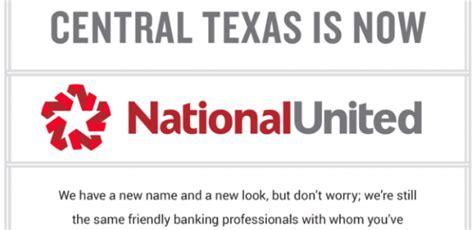 national bank gatesville national banks of central becomes national united
