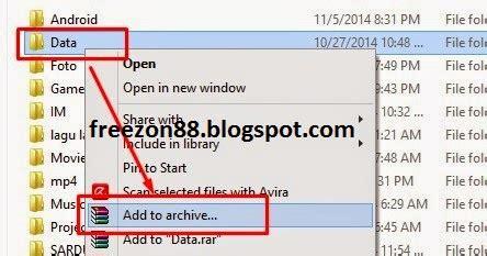 cara membuat flashable zip hanivinside net cara membuat file folder dalam bentuk rar atau zip
