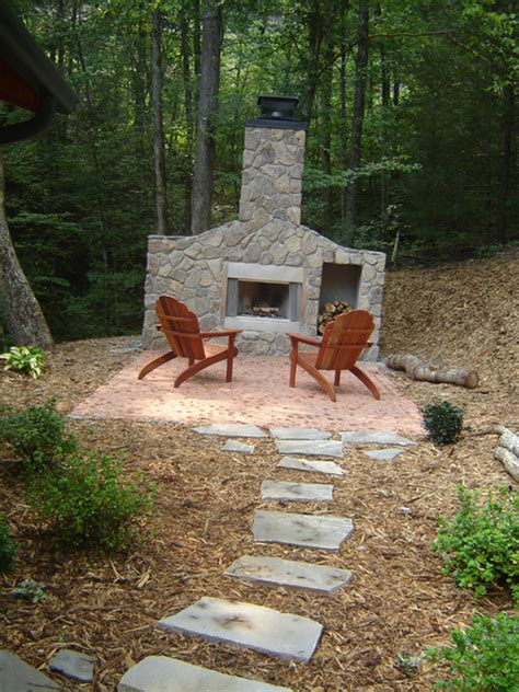 Outdoor Fireplace Designs Diy by Outdoor Fireplaces On Outdoor Fireplace Kits