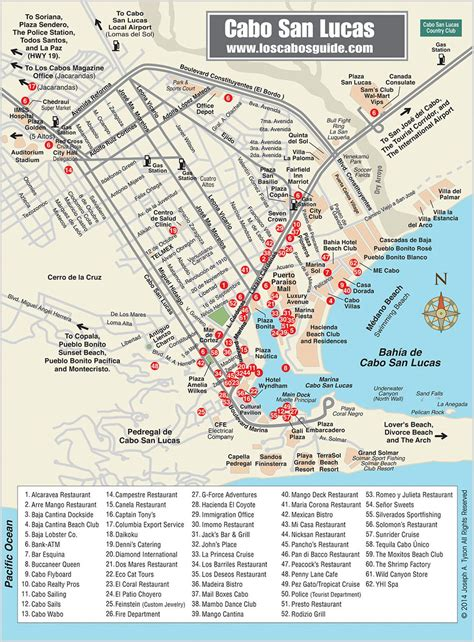map cabo mexico cabo san lucas map los cabos guide travel