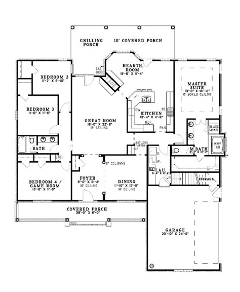 floor plans with mudroom good one story floor plan for 2405 sq ft with 3 car