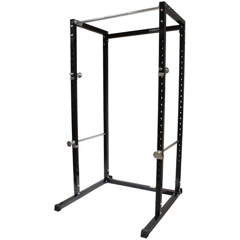 Sale Black Power Cage Squat Rack Pull Up Bar Gym Bench