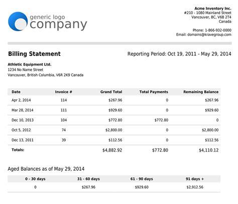 New Customer Billing Statements Salesbinder News Online Inventory Management Customer Statement Template