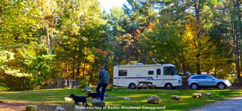 massachusetts rv parks  camping  boston boston