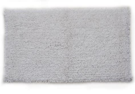 cotton bath rugs with backing castle hill melbourne 100 cotton bath rug with spray backing 17x24 white home rugs for