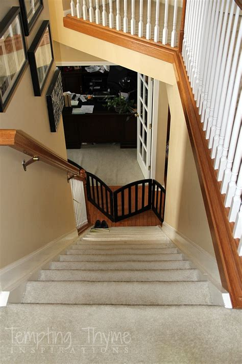 taking up carpet from hardwood floors stair project begins removing the carpet and prepping the