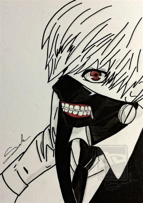 Kaos Kaneki Tokyo Ghoul Bw ken kaneki of tokyo ghoul by sandramordii on deviantart