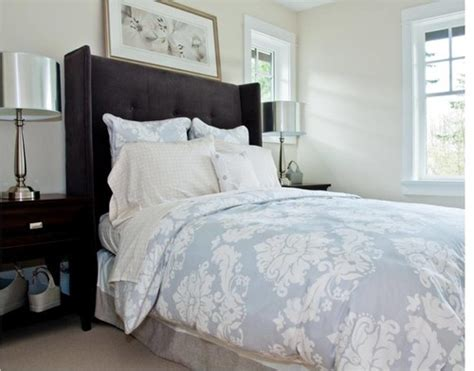 blue damask bedding by the spotted frog designs 183 more info