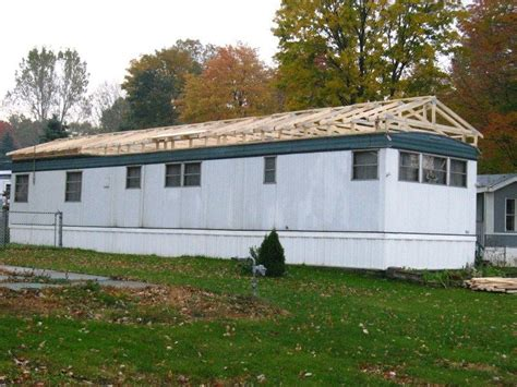 build a modular home build a roof over an existing mobile home roof modular