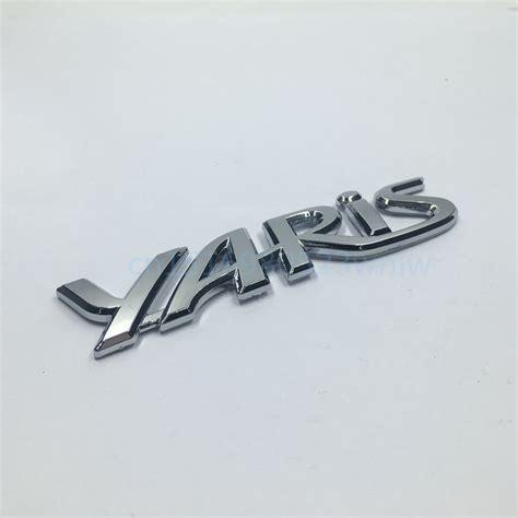 Toyota Car Decal Sticker Toyota Bagian Bak Belakang Ukuran Besar 120cm roda4 aksesoris variasi mobil store