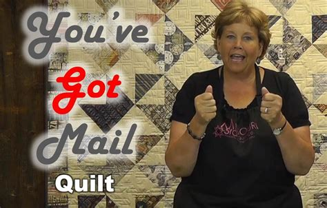 quilt pattern you ve got mail you ve got mail layer cake friendly quilt project youtube