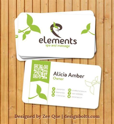beautiful business card templates free beautiful business card template for spa
