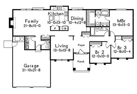 maryville contemporary home plan   house plans