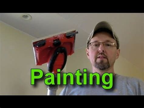 Ceiling Edging Tool by How To Use A Paint Edger And Paint A Wall With A Vaulted