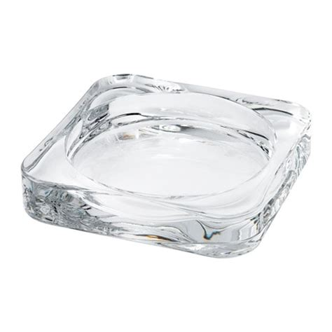 candele galleggianti ikea glasig candle dish clear glass 10 x 10 cm ikea