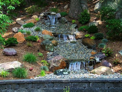 backyard ponds waterfalls pictures outdoor furniture