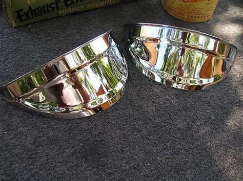 new pair of chrome vintage sell new pair of chrome vintage style light visors motorcycle in montclair california