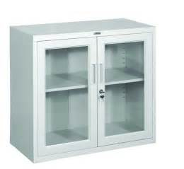 metal and glass cabinet lockable office cabinet metal cabinet with glass doors