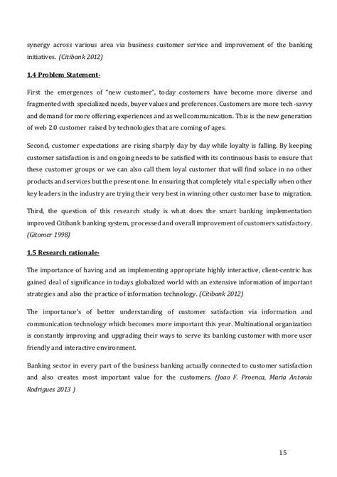 satisfaction dissertation dissertation on customer satisfaction in banks