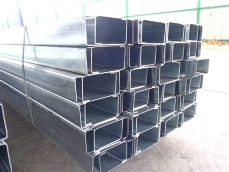 steel c section prices galvanized c section frame for steel structure galvanized