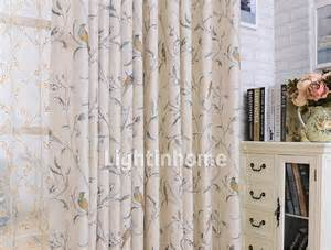Curtains With Bird Pattern Curtain Pelmet 2017 2018 Best Cars Reviews