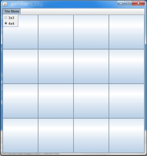 java jframe layout grid java gridlayout only updates when window is manually