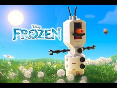Disney Frozen Brick Minifigure Olaf how to build a lego olaf snowman from disney frozen