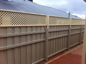 How To Install Trellis Panels Fence Extensions Perth Lattice Fence Extension Perth