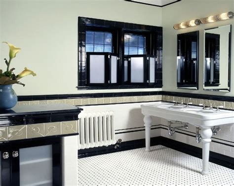 art deco black and white bathroom 20 stunning art deco style bathroom design ideas