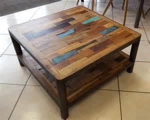 tables basses quot quot vieux bois de bateaux m 233 tal 3