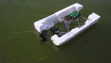 pvc rc boat trailer rc pontoon from a toy car hackaday