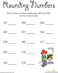 in the high hundreds rounding numbers worksheet