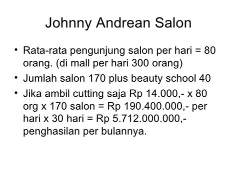 Catok Di Johnny Andrean strategic planning seminar