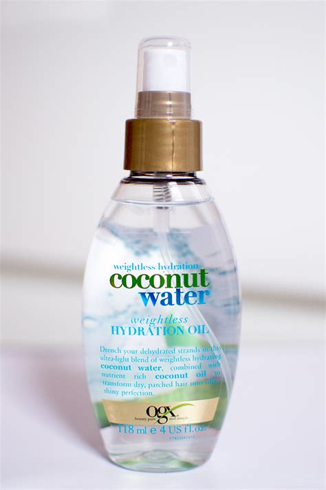 hydration products subscription box swaps ogx weightless hydration coconut