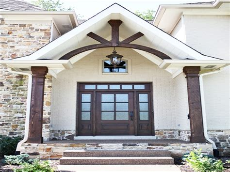 beam x front of house ceiling fans for porches rustic front entry with wood